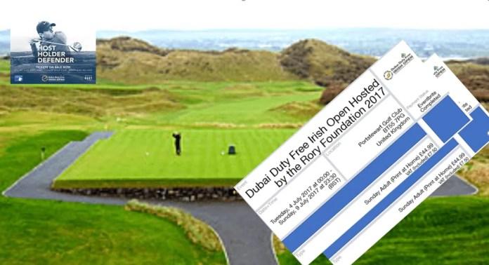 WIN TWO DUBAI DUTY FREE IRISH OPEN TICKETS