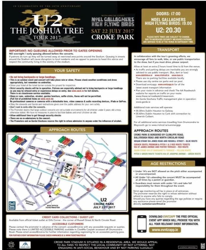 U2 Croke Park