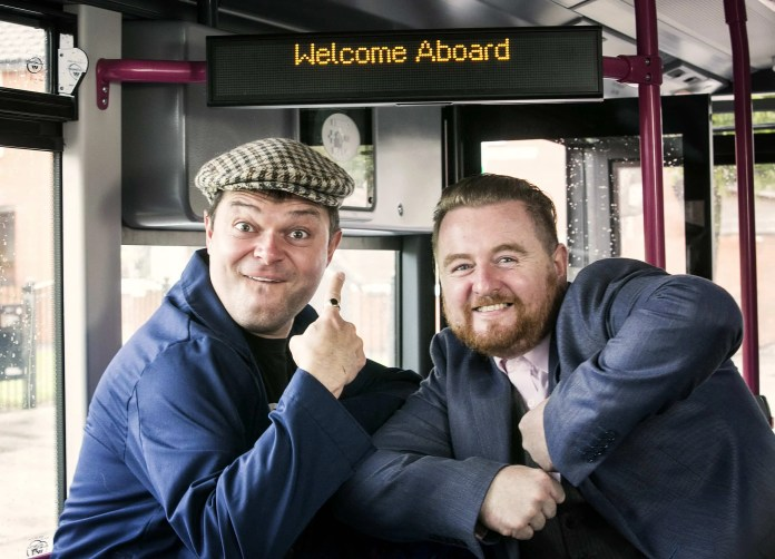 All aboard the Translink EastWest Bus Tour
