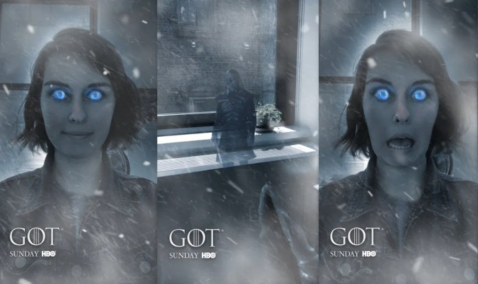 Game of Thrones Snapchat Filter