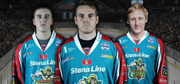 Belfast Giants netminders