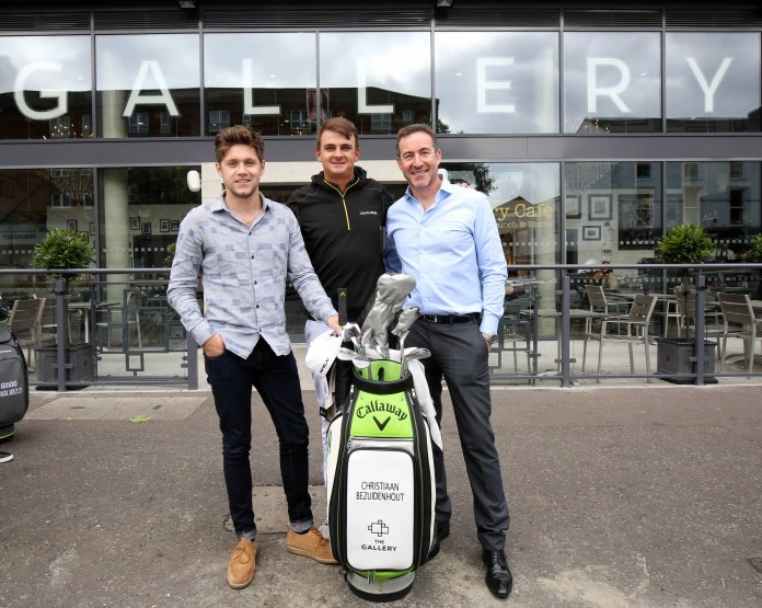 The Gallery Café Bar announces sponsorship of young golf talent 001