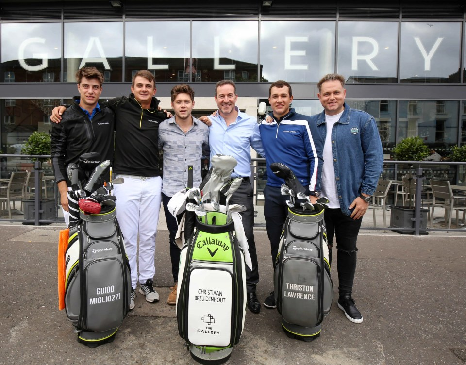 The Gallery Café Bar announces sponsorship of young golf talent 006