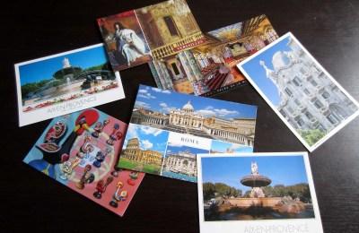 Boastcards postcards