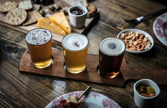Beer and Autumn menu