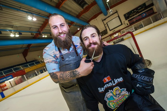 Belfast Giants Man Shack