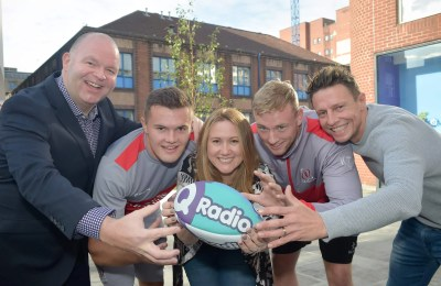 Q Radio Ulster Rugby Partnership