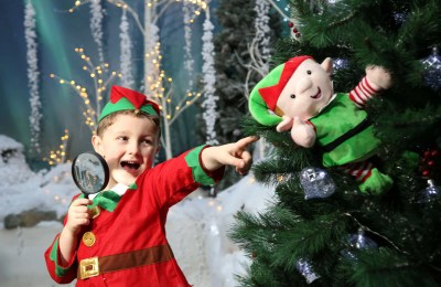P&O Ferries Christmas Elf Hunt