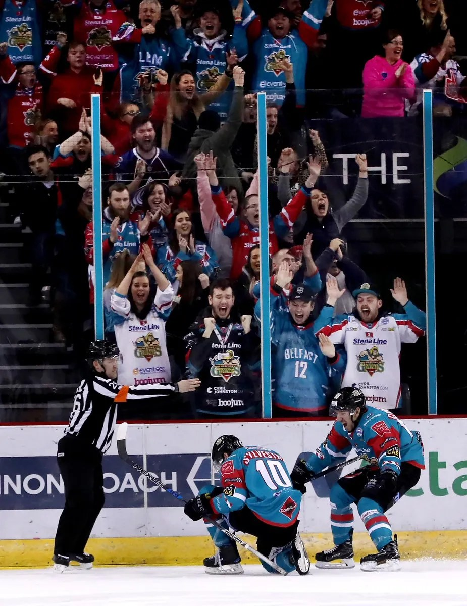 Belfast Giants 6-4 Nottingham Panthers
