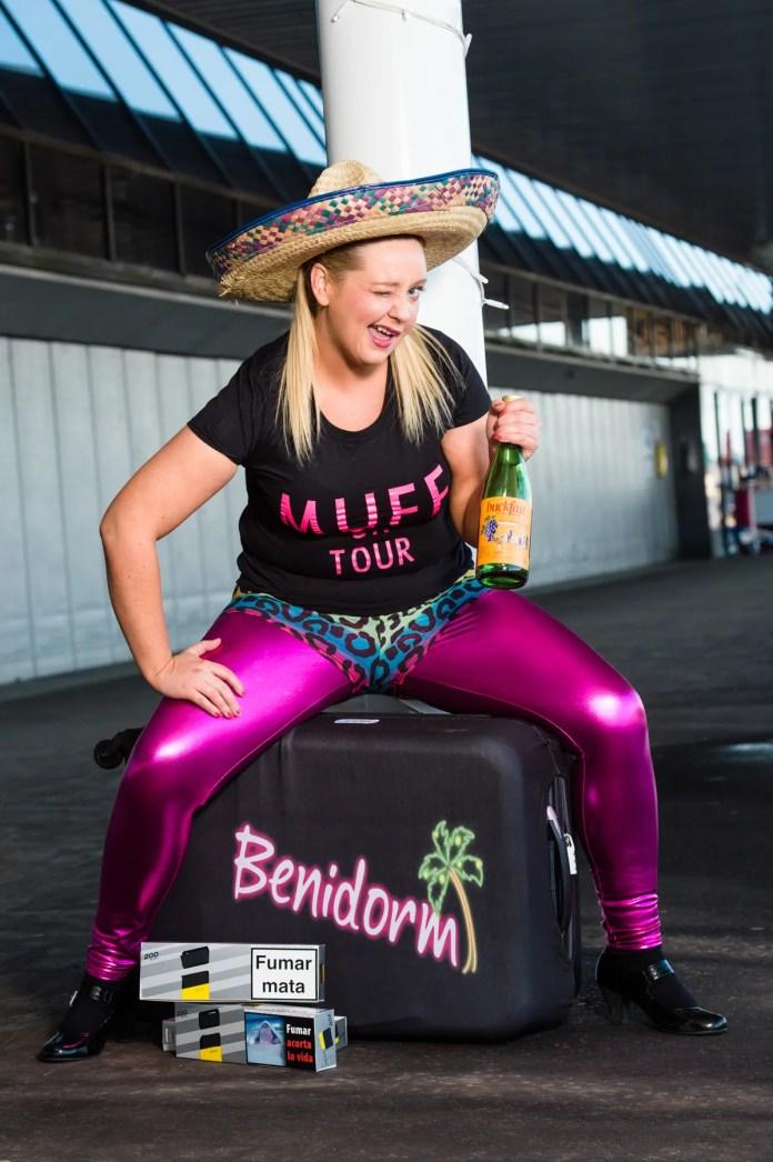 Maggie Muff's Feg Run to Benidorm. Picture: Elaine Hill Photography