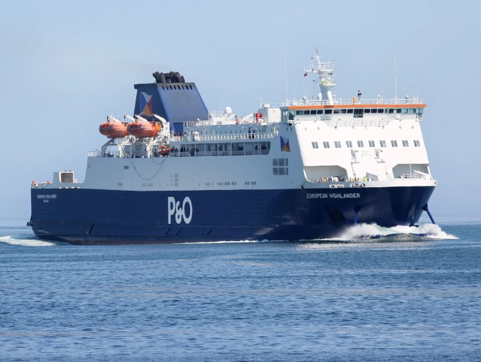 LARNE-CAIRNRYAN FREIGHT TRAFFIC HIT SIX-YEAR HIGH IN 2017, SAYS P&O FERRIES