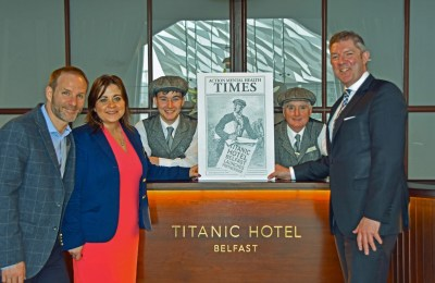 Read All About It... Titanic Hotel Belfast Launches Partnership with Action Mental Health