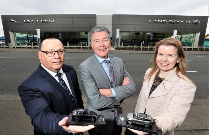 Charles Hurst £8m Jaguar Land Rover Showroom Opens