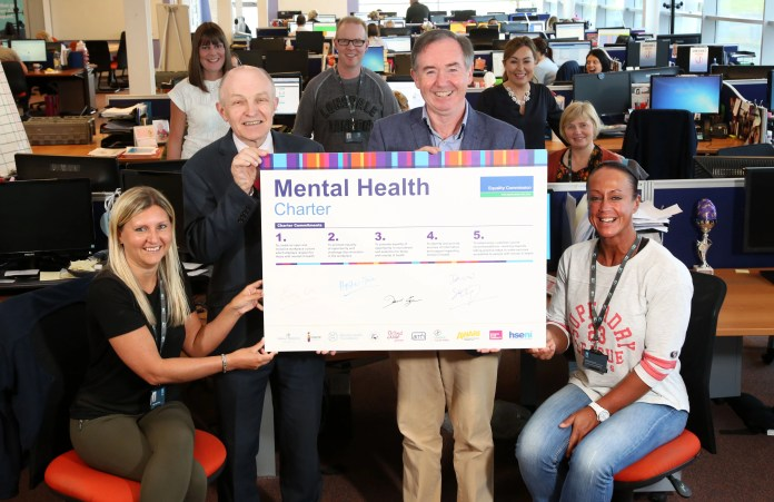 Hughes Insurance sign up to Northern Ireland's Mental Health Charter 2
