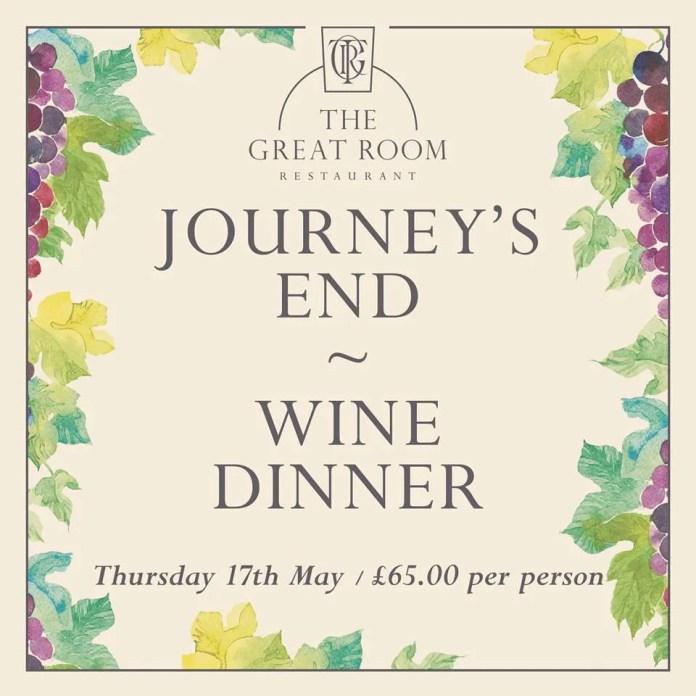 Journey's End WineDinner Merchant Hotel