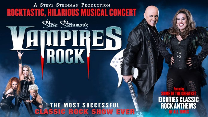 Vampires Rock with special guest star Sam Bailey