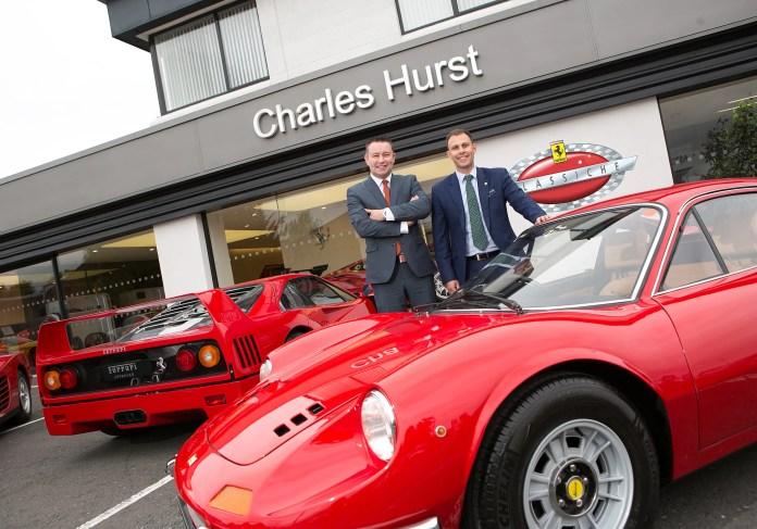 Charles Hurst appointed Ferrari Officina Classiche status