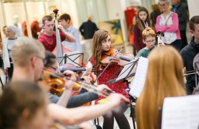Ulster Youth Orchestra pop-up at Rushmere