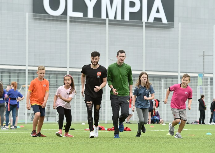 Summer Sports Day at Olympia leisure