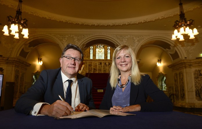 British Council and Belfast City Council sign MoU