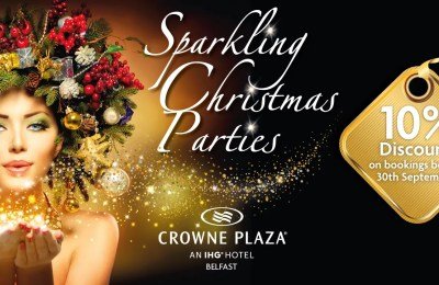 Crowne Plaza Hotel Belfast Christmas