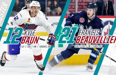 Belfast Giants baun beauvillier