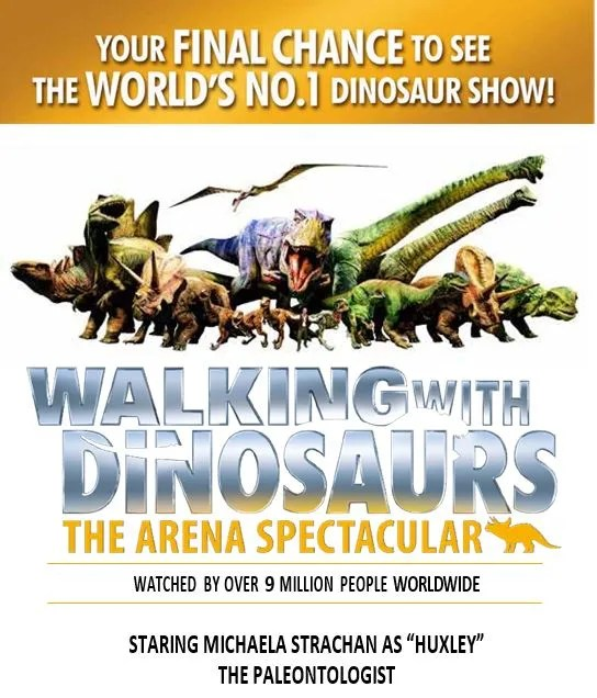 Walking with Dinosaurs Belfast