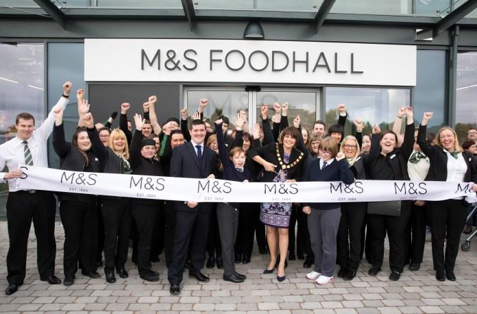 M&S Craigavon Opening