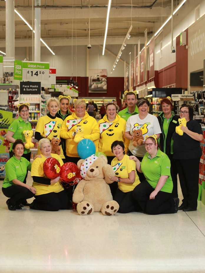 Children in Need Asda