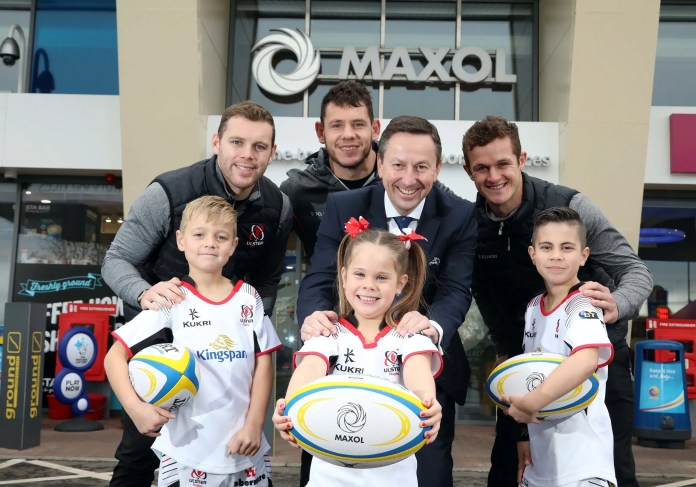 MAXOL CELEBRATES NEW SEASON OF SPONSORSHIP WITH ULSTER MINI RUGBY