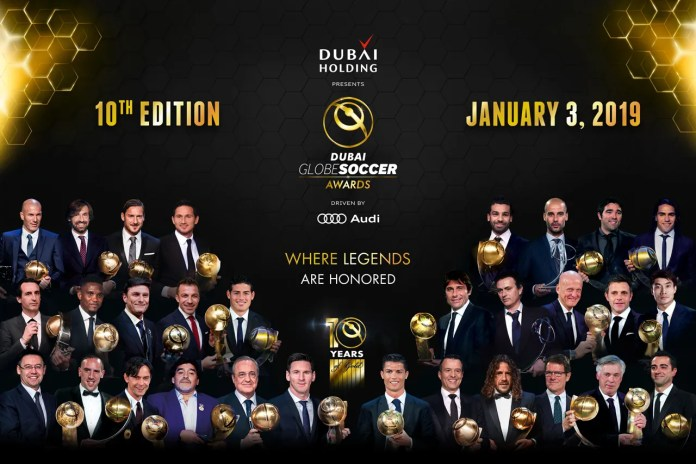 GLOBE SOCCER AWARDS IN DUBAI Inbox x