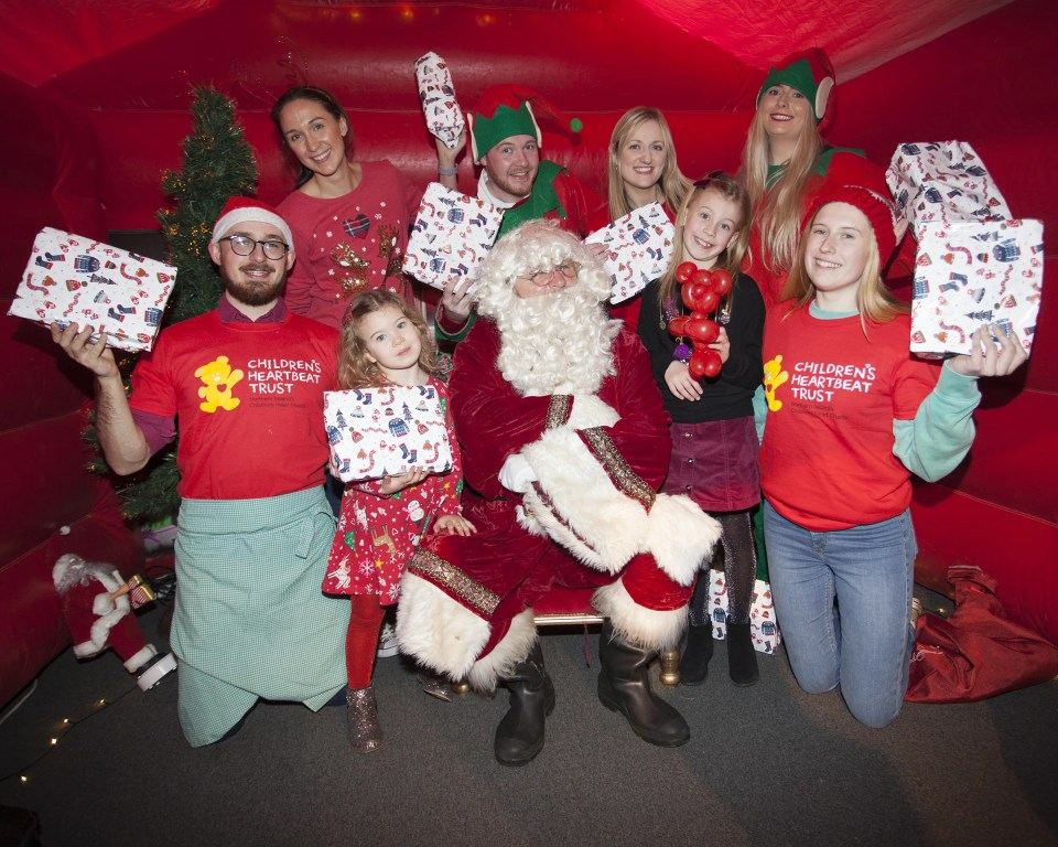 Children's Heartbeat Trust launch 12 Days of Christmas Campaign