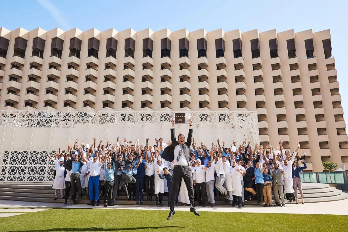 The Radisson Blu Hotel, Dubai Deira Creek has reclaimed its