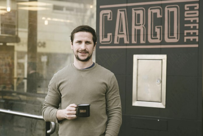 Matt Towe Owner of Cargo Coffee