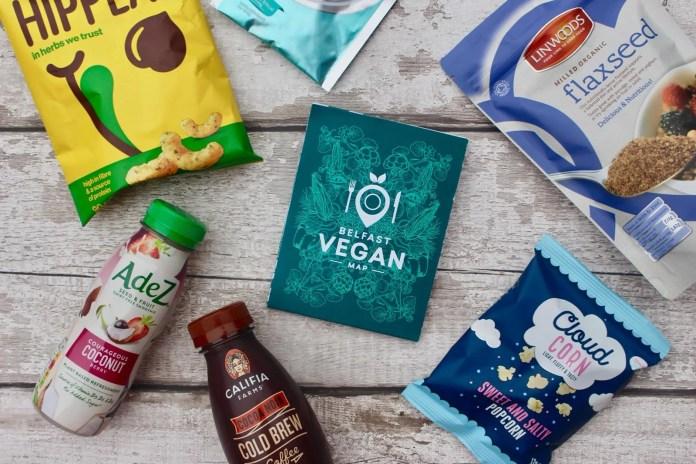 Vegan Food Map Belfast