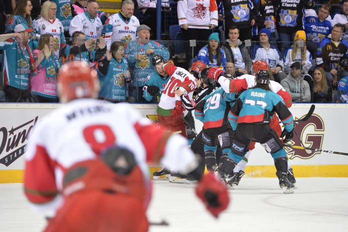 Belfast Giants vs Cardiff Devils