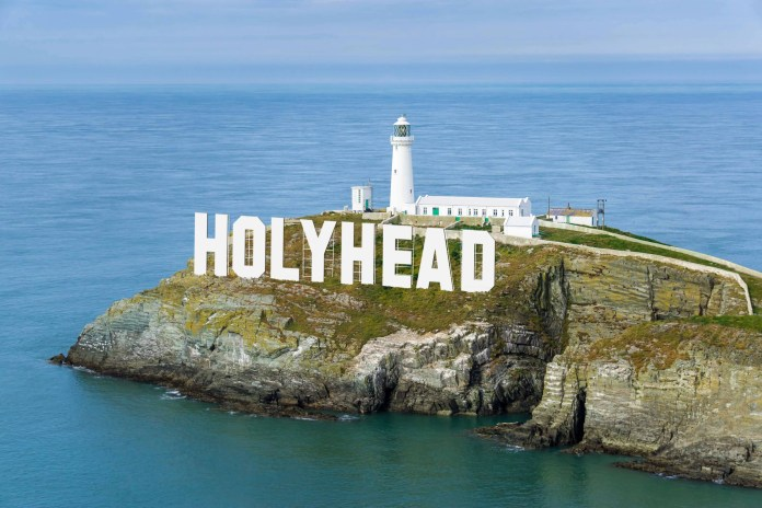 Holyhead Sign Stena Line
