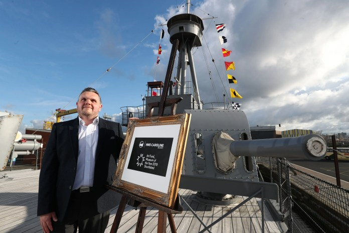 Belfast's HMS Caroline shortlisted for £100,000 Art Fund Museum of the Year