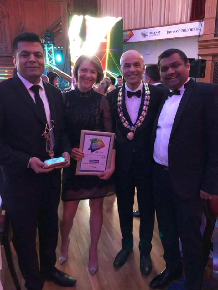 Holiday Inn Belfast Business Awards