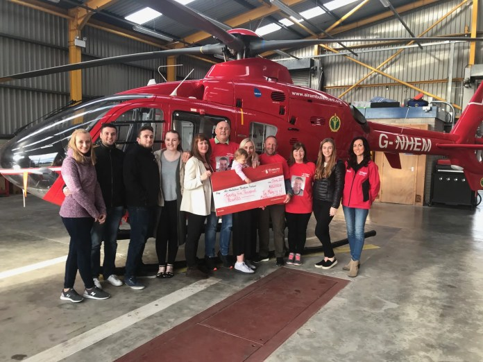 AIR AMBULANCE NI IN MEMORY OF MATTHEW CAMPBELL