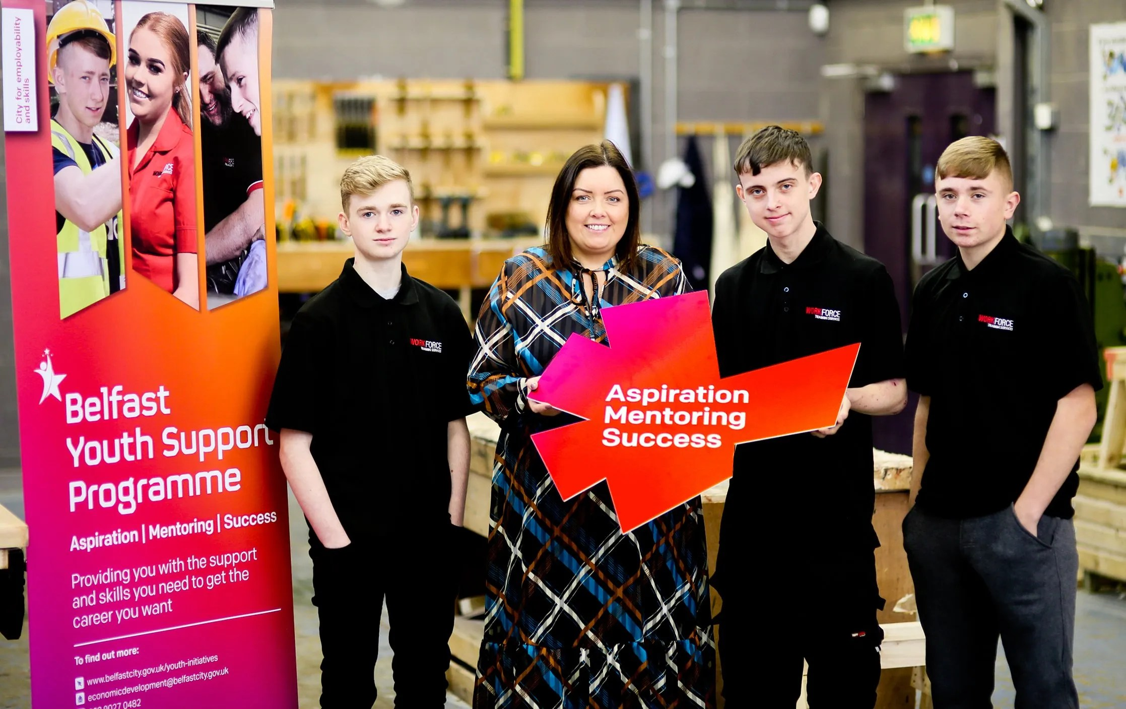 Council Supports Young People To Get On The Career Path Lovebelfast