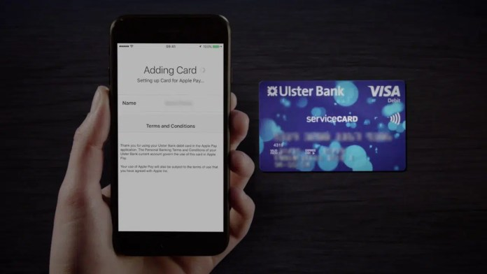 Ulster Bank apple pay