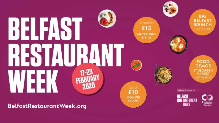 Belfast Restaurant Week 2020
