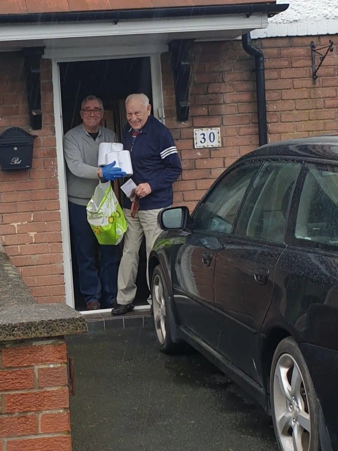 Freemasons Support Local Community with Rescue Packs for the Elderly.