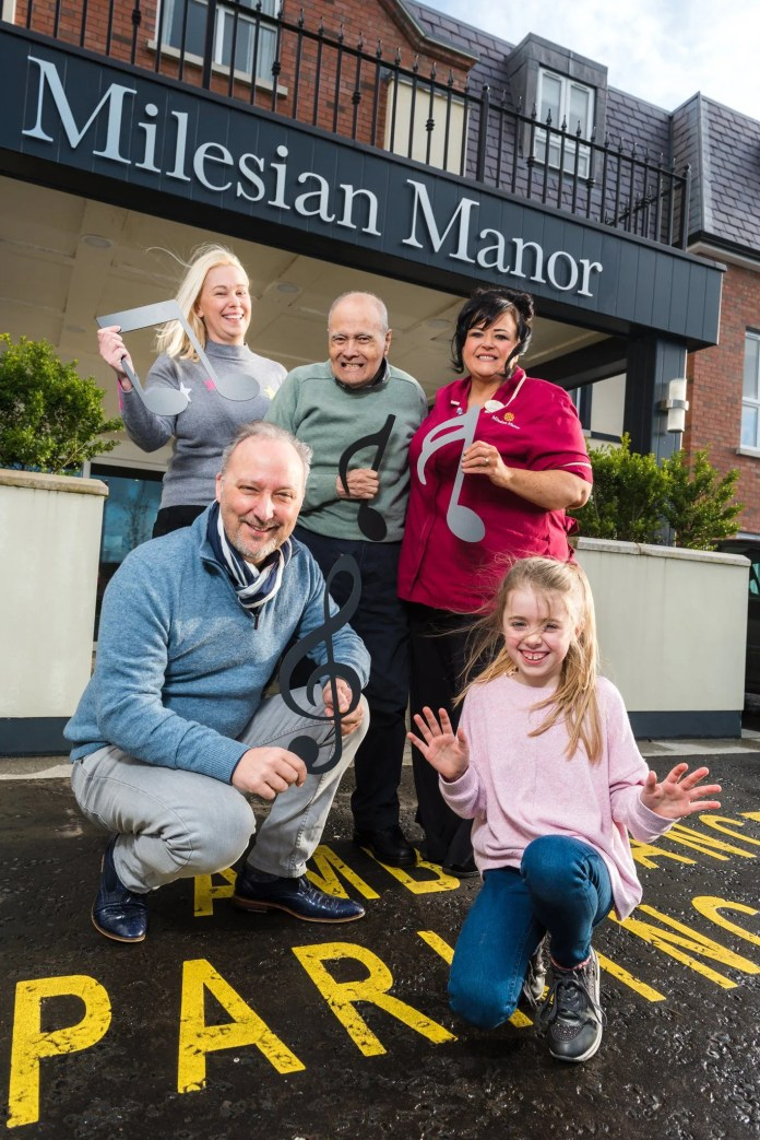 Peter Corry Launches Intergenerational Choir at Milesian Manor