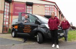 NI housebuilding firm donates £30,000 to homeless charity for purchase of new 'Street Outreach Vehicle'