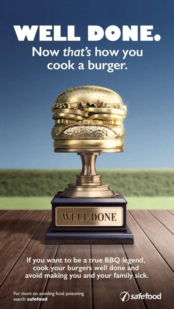 BBQ Burger safefood