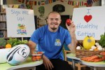 Ulster Rugby's Jacob Stockdale Stands Behind New Kids' Healthy Eating Programme