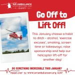 Go Off to Lift Off for Air Ambulance NI