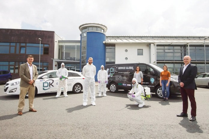 DK Service Global (DKSG) Ltd are the electrostatic disinfection and hygiene specialists.